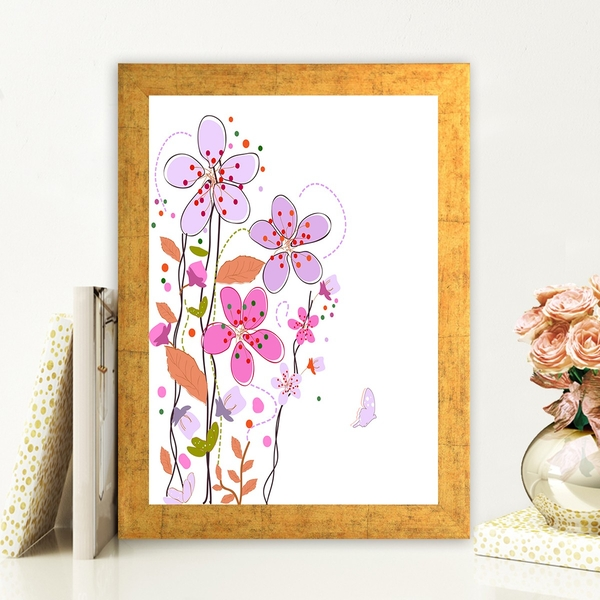 AC99888468 Multicolor Decorative Framed MDF Painting