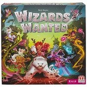 Mattel Wizards Wanted Board Game - Damaged Packaging