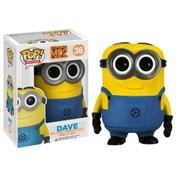 Ex-Display Dave (Despicable Me) Funko Pop! Vinyl Figure Used - Like New