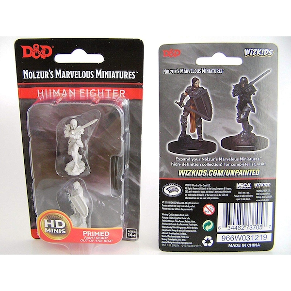 Dungeons & Dragons Nolzur's Marvelous Unpainted Miniatures (W9) Female Human Fighter