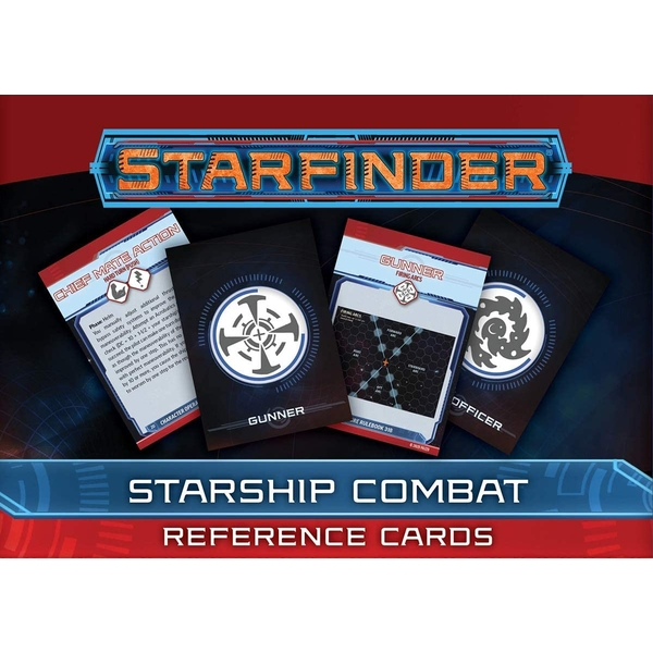 Starfinder Starship Combat Reference Cards