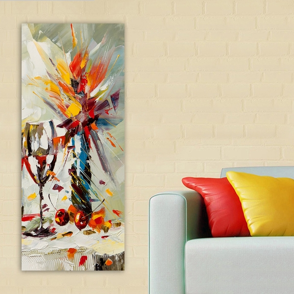 DKY521636_50120 Multicolor Decorative Canvas Painting