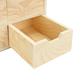 Mini Wooden Chest of 6 Drawers | Pukkr - Image 3