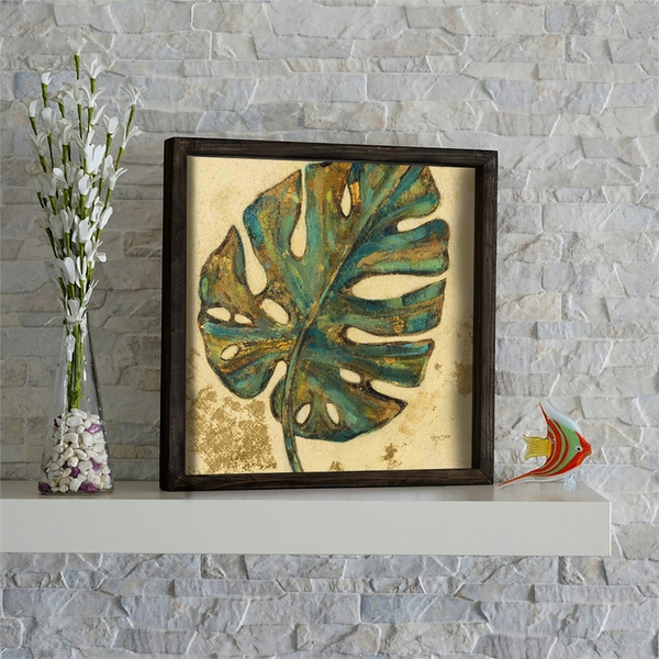 KZM433 Multicolor Decorative Framed MDF Painting