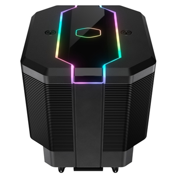 Cooler Master MasterAir MA620M Universal Socket 120mm PWM 2000RPM Addressable RGB LED Fan CPU Cooler with Wired Addressable RGB Controller
