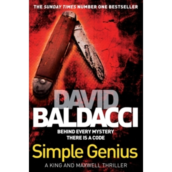 Simple Genius by David Baldacci (Paperback, 2013)