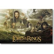 Lord Of The Rings Trilogy Maxi Maxi Poster
