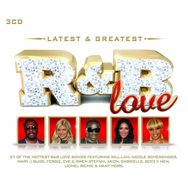 Latest & Greatest R&B Love CD