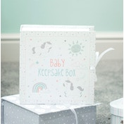 Sass & Belle Baby Unicorn Keepsake Box with Drawers
