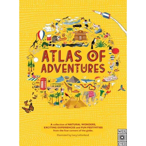 Atlas of Adventures by Lucy Letherland (Hardback, 2014)