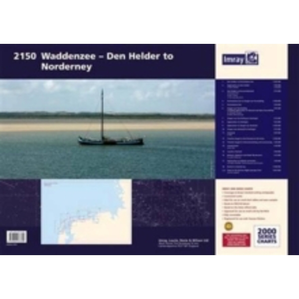 Imray Chart Atlas 2150 : Waddenzee - Den Helder to Norderney : 2150
