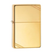 Zippo Vintage High Polished Brass Windproof Lighter