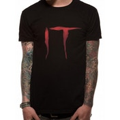 IT - Logo Men's Medium T-Shirt - Black