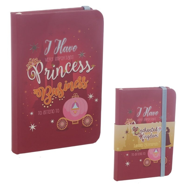 Princess Slogan Hardback Notebook