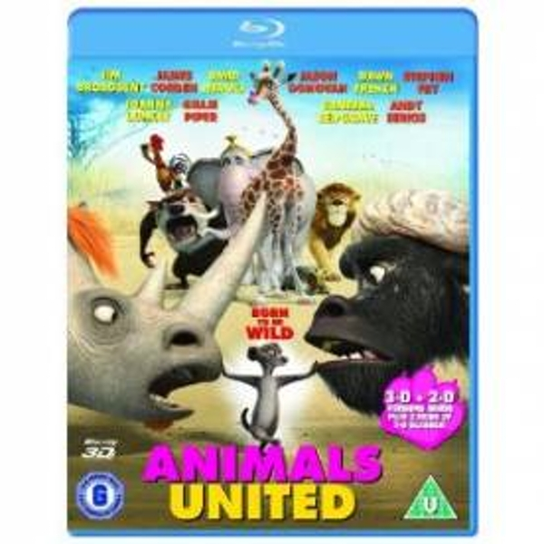 Animals United 3D Blu-Ray - Image 1