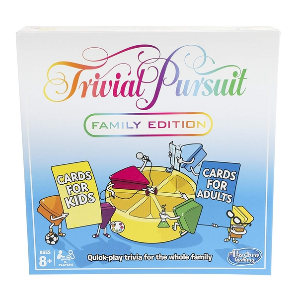 Trivial Pursuit Family Edition Board Game - Image 1