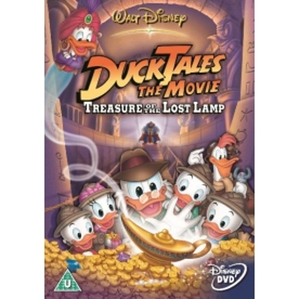 Duck Tales Tail Of The Lost Lamp DVD