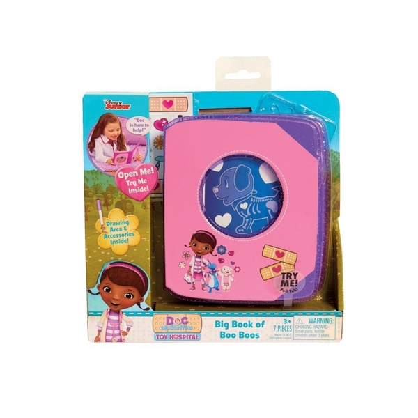 Doc Mcstuffins Hospital Book Of Boo Boos Image 2