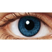 Azure Blue 1 Month Coloured Contact Lenses (MesmerEyez Intense)