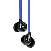 Veho 360 Z-1 Noise Isolating Stereo Earphones with Flat Flex Anti Tangle Cord Blue