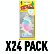 Cotton Candy (Pack Of 24) Little Trees Air Freshener