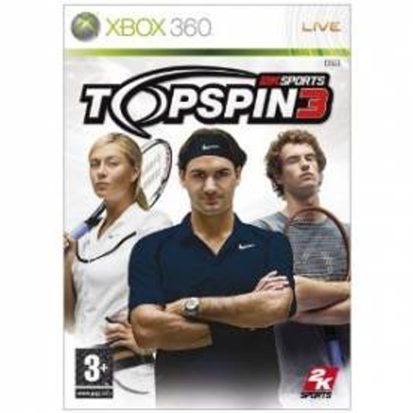 TopSpin 3 Game Xbox 360