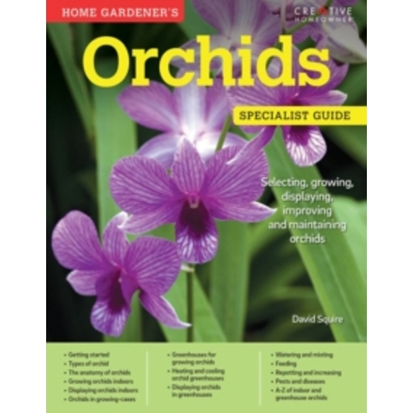 Home Gardener's Orchids by David Squire (Paperback, 2016)