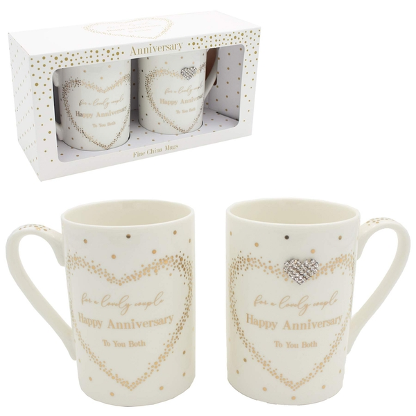 Mad Dots Anniversary Mugs By Lesser & Pavey