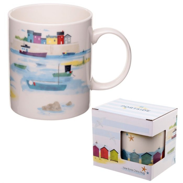 Seaside and Beach Portside Design New Bone China Mug
