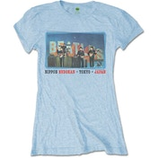 The Beatles - Nippon Budokan Women's Medium T-Shirt - Blue