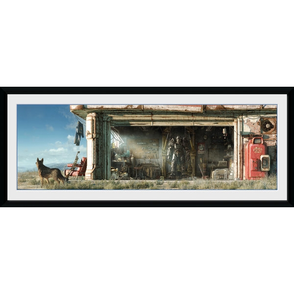Fallout Garage Framed Collector Print