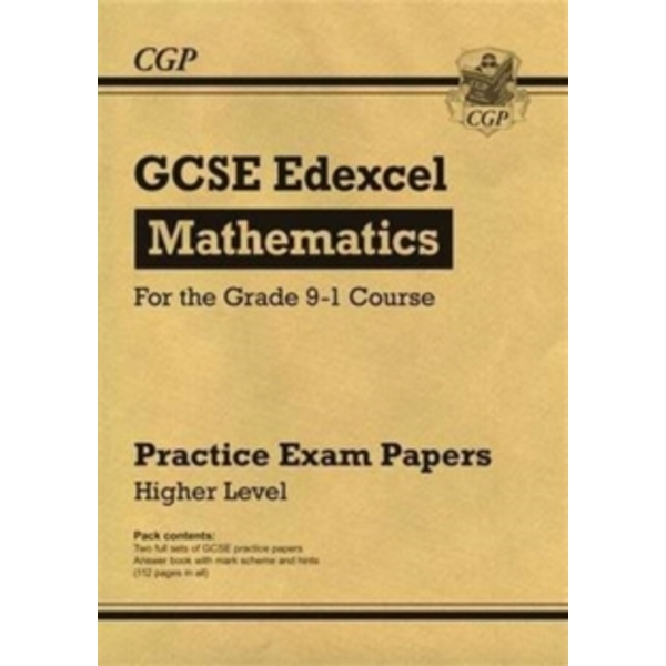 New GCSE Maths Edexcel Practice Papers: Higher - For the Grade 9-1 Course by CGP Books (Paperback, 2016)