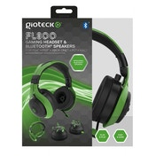 Gioteck FL-300 Wired Stereo Headset with Removable Bluetooth Speakers - Green (PS4/Xbox One/PC/Mac/Playstation Vita)