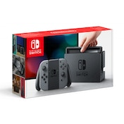 Nintendo Switch Console with Grey Joy-Con Controllers