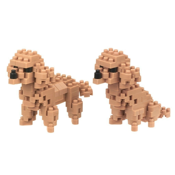 Toy Poodle (Nanoblocks) Figure