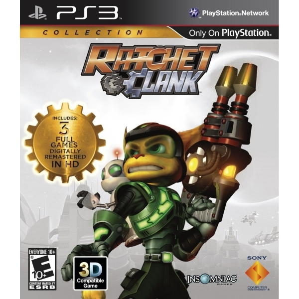Ratchet & Clank Collection Game PS3
