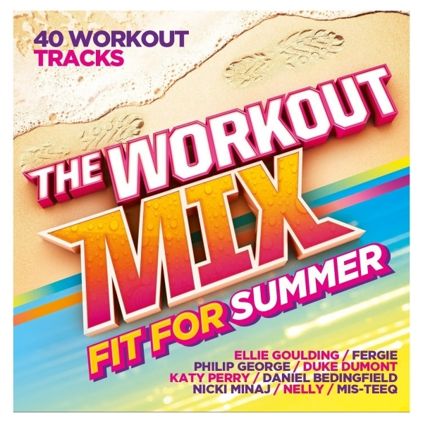 The Workout Mix - Fit for Summer CD