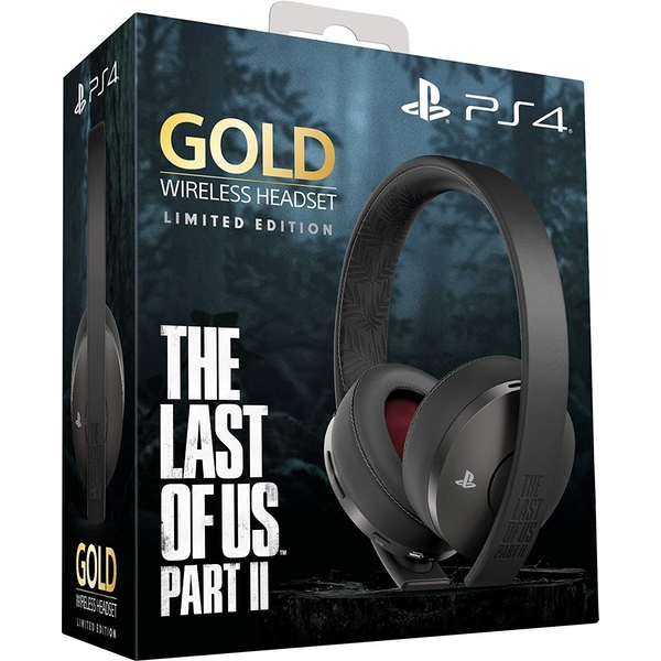 Limited Edition The Last of Us Part II Gold Wireless Headset for PS4