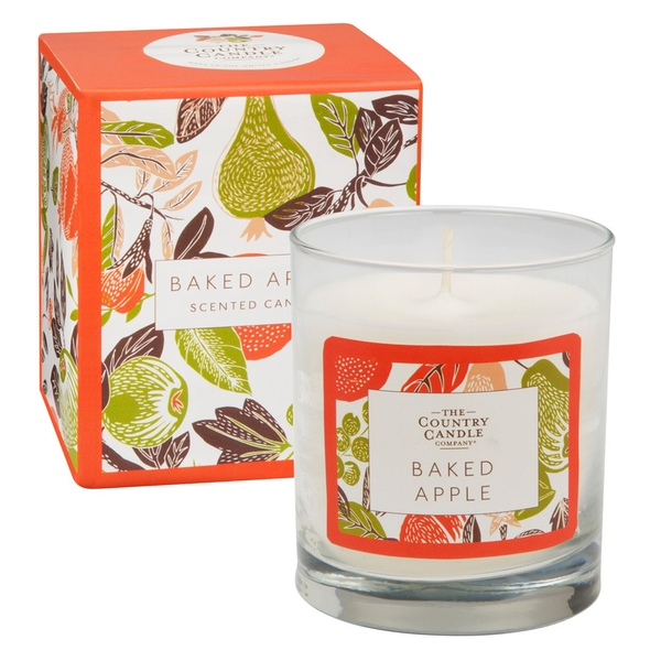 Baked Apple (Fragrant Orchard Collection) Glass Candle