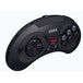 Retro-Bit Official SEGA Mega Drive Black Wireless Controller 8-Button Arcade Pad for Sega Mega Drive - Image 3