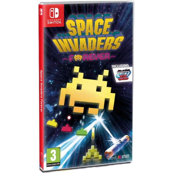 Space Invaders Forever Nintendo Switch Game