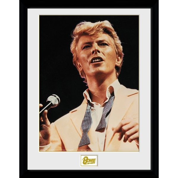 David Bowie Bow Tie Collector Print
