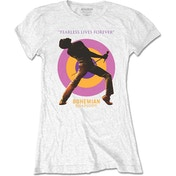 Queen - Fearless Women's Small T-Shirt - White