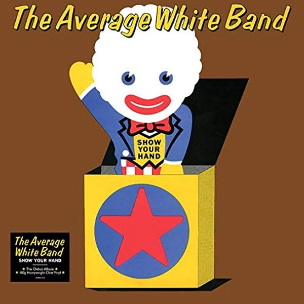 Average White Band - Show Your Hand Coloured  Vinyl