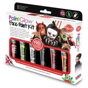 Paintglow Halloween Face Paint Boxset