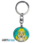 Disney - Alice Metal Keyring
