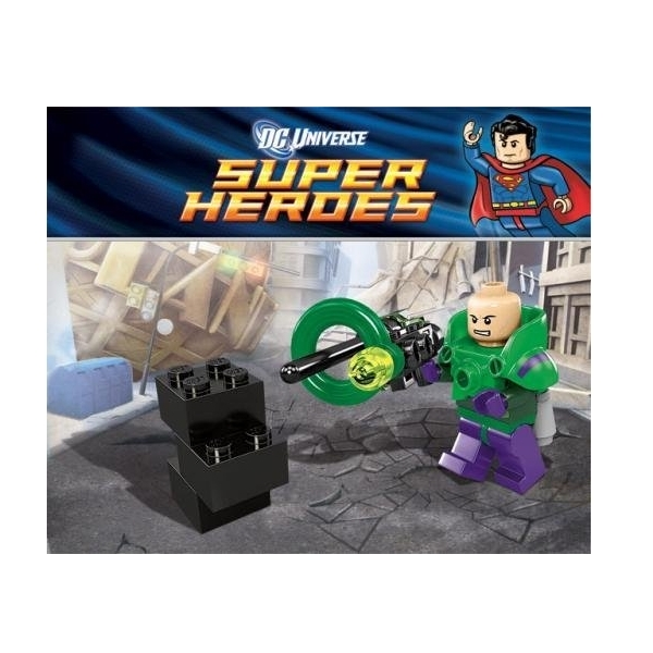 DC Universe Super Heroes Lex Luthor Lego Mini Figure 30164