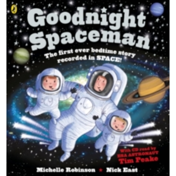 Goodnight Spaceman : Book and CD