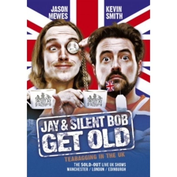 Jay & Silent Bob Get Old Tea Bagging In The UK DVD