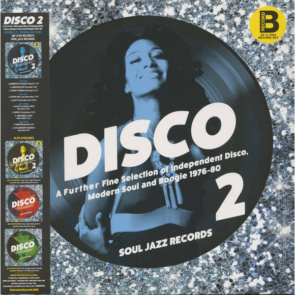 Various - Disco 2 (A Further Fine Selection Of Independent Disco, Modern Soul & Boogie 1976-80) (Record B) Vinyl